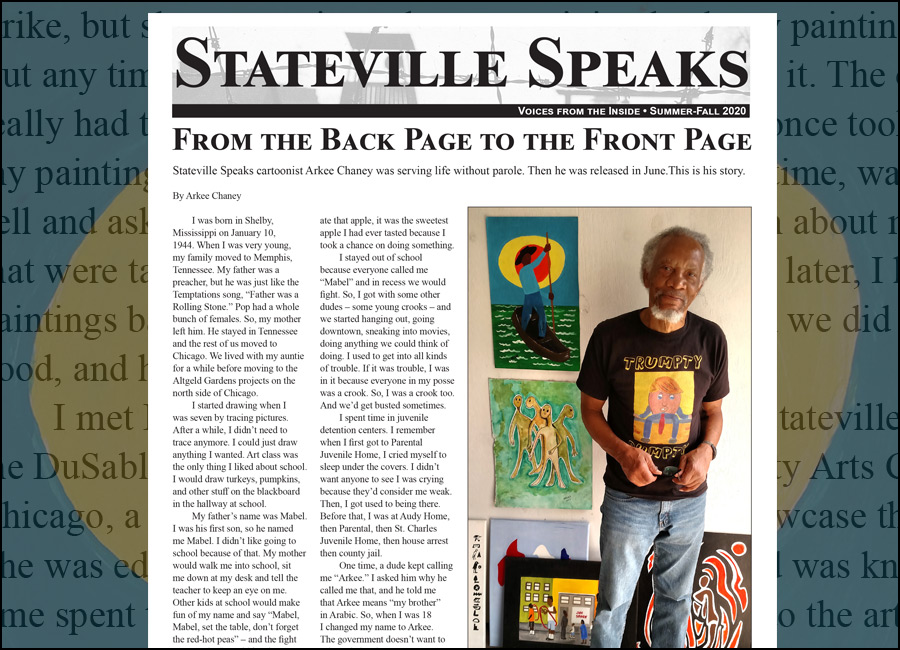 Stateville Speaks Newsletter